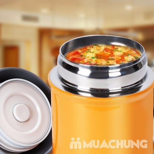Bình ủ giữ nhiệt 600ml nhỏ gọn, tiện dụng - 2