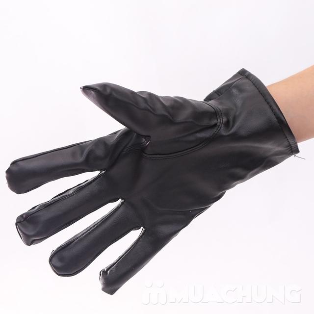 Găng tay da cảm ứng, lót lông ấm áp ngày lạnh - 13