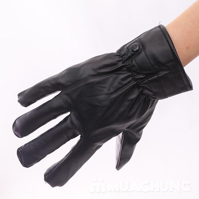 Găng tay da cảm ứng, lót lông ấm áp ngày lạnh - 14