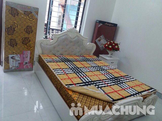 Thảm nỉ trải giường họa tiết 2x2,2m - 6
