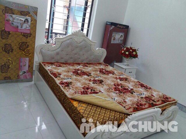 Thảm nỉ trải giường họa tiết 2x2,2m - 5
