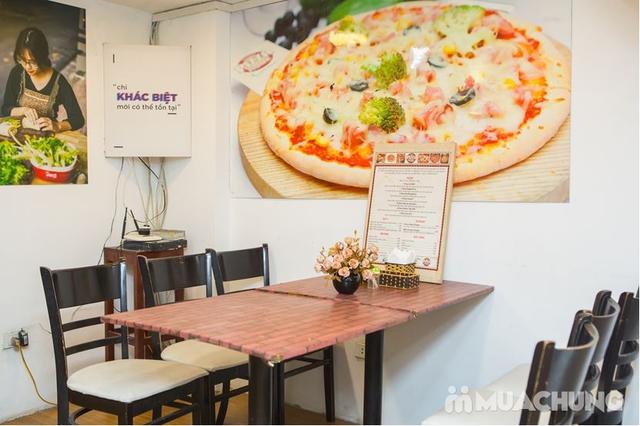 Cơn bão phô mai Pizza nhân nhồi Chicago cực HOT - 3