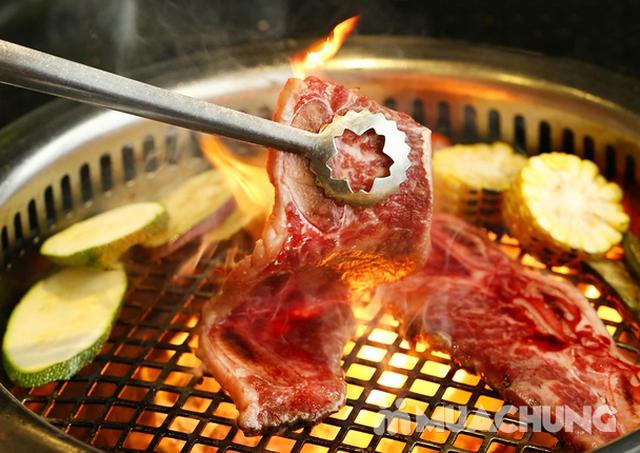 Buffet nướng Hàn Quốc ăn thả ga tại Moon BBQ - 11