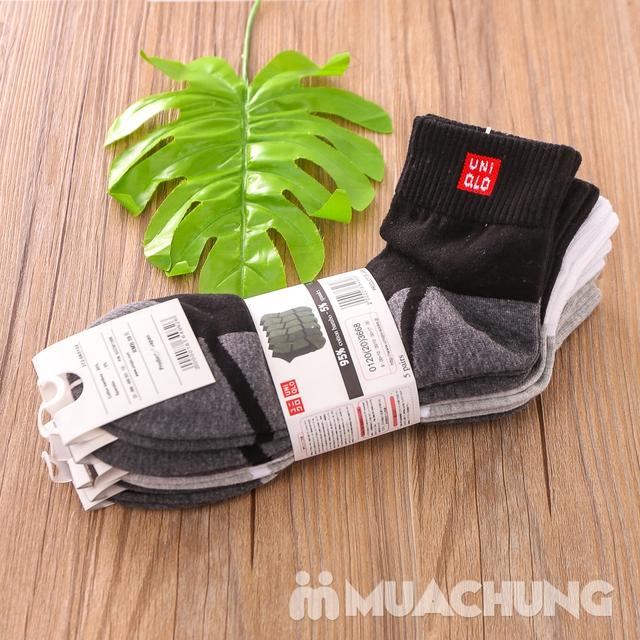 Combo 5 đôi tất nam cổ cao hàng xuất Nhật - 6