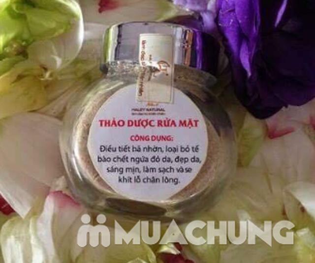 Bột rửa mặt thảo dược cho da mềm mịn - 9