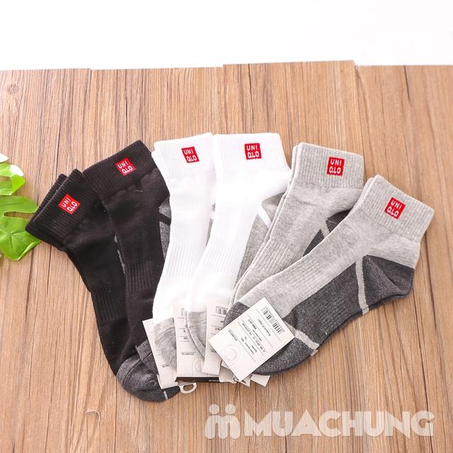 Combo 5 đôi tất nam cổ cao hàng xuất Nhật - 11