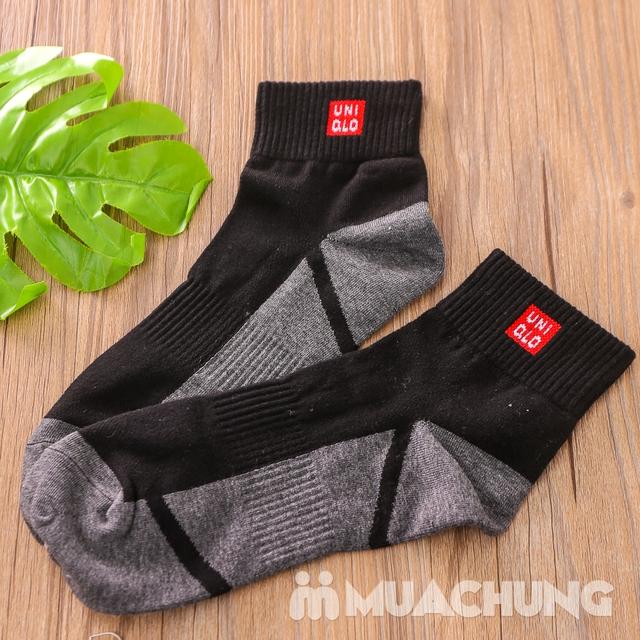 Combo 5 đôi tất nam cổ cao hàng xuất Nhật - 9