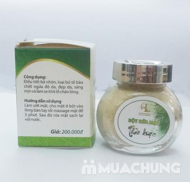 Bột rửa mặt thảo dược cho da mềm mịn - 8