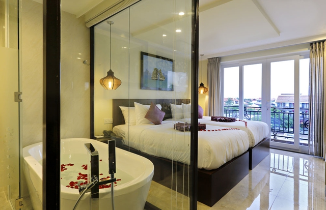 River Suite Hoi An Hotel 4* - Deluxe (City/Pool view) - 7