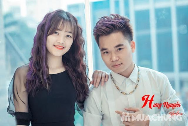 1 trong 3 gói tóc tặng hấp- Hưng Nguyễn Hair Salon - 11