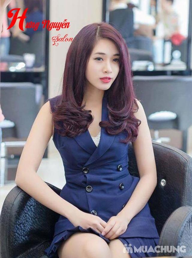 1 trong 3 gói tóc tặng hấp- Hưng Nguyễn Hair Salon - 5