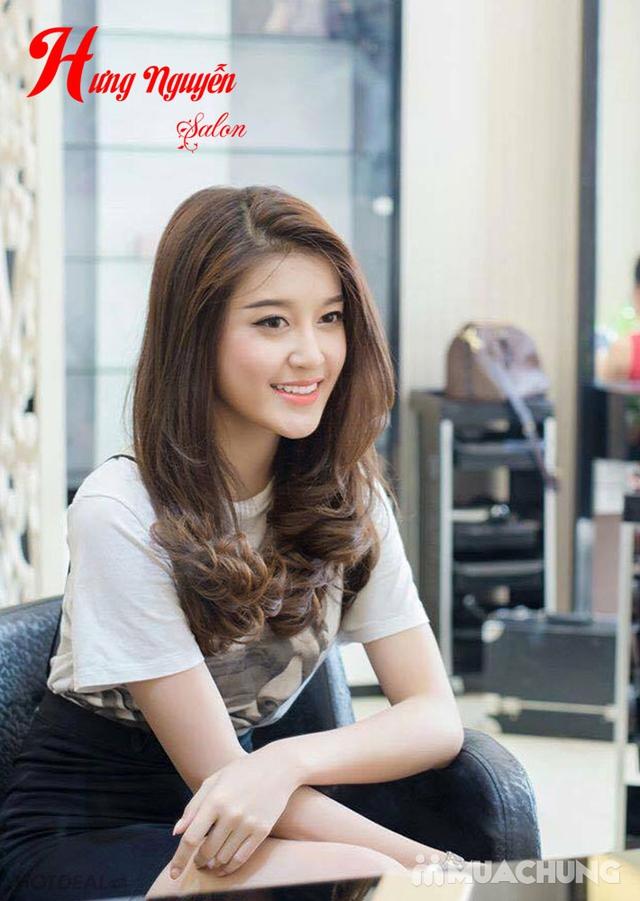 1 trong 3 gói tóc tặng hấp- Hưng Nguyễn Hair Salon - 3