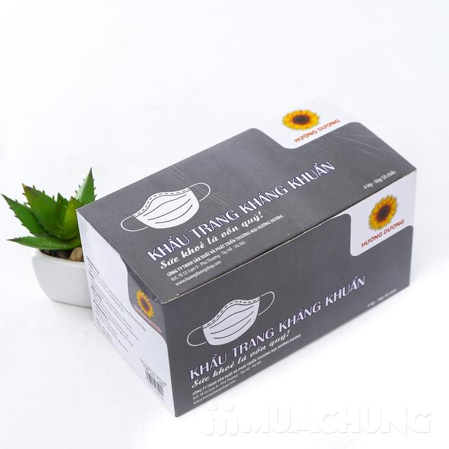 2 hộp khẩu trang tinh chất than kháng khuẩn 4 lớp - 8