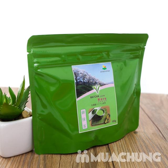 Bột trà xanh Matcha Haru vụ xuân thượng hạng 100g - 7