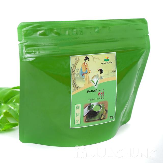 Bột trà xanh Matcha AKI vụ thu 100g - 7