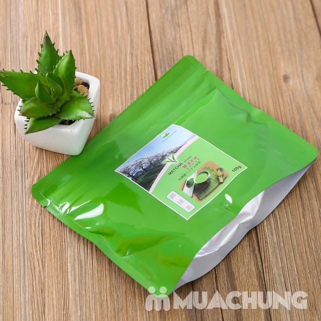 Bột trà xanh Matcha Haru vụ xuân thượng hạng 100g - 8