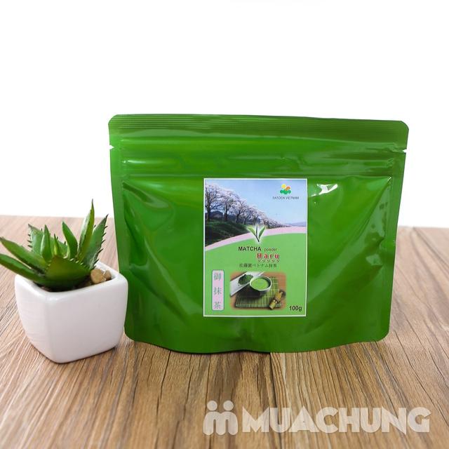 Bột trà xanh Matcha Haru vụ xuân thượng hạng 100g - 6