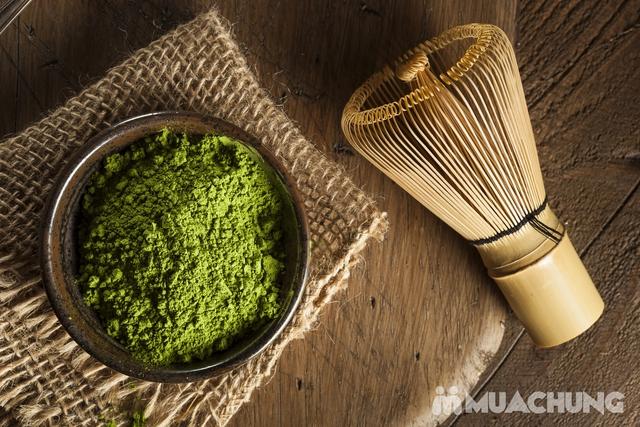 Bột trà xanh Matcha AKI vụ thu thượng hạng 100g - 3