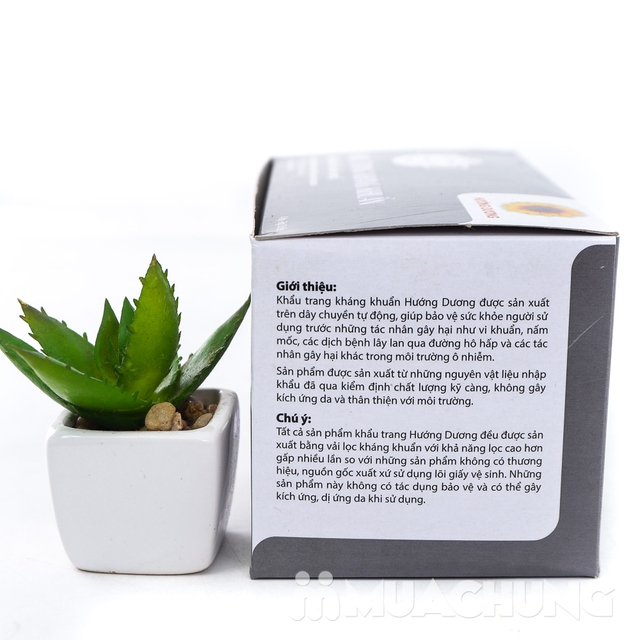 2 hộp khẩu trang tinh chất than kháng khuẩn 4 lớp - 6