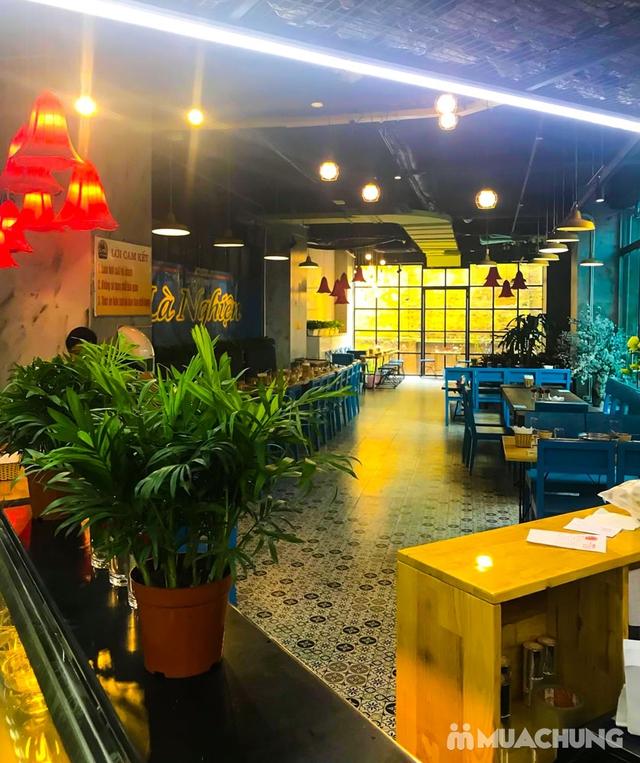 Buffet lẩu- NH Nghiện Lẩu cơ sở mới số 1 Lương Yên - 7