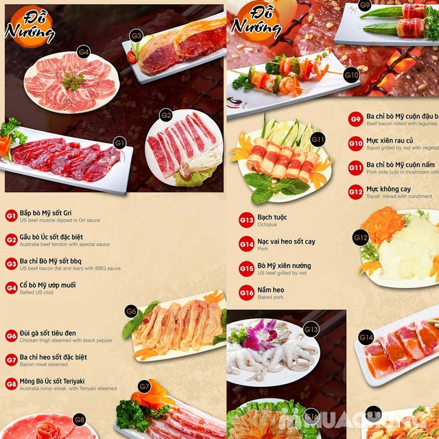 Buffet nướng lẩu Gri & Gri - Time City/Royal City - 12