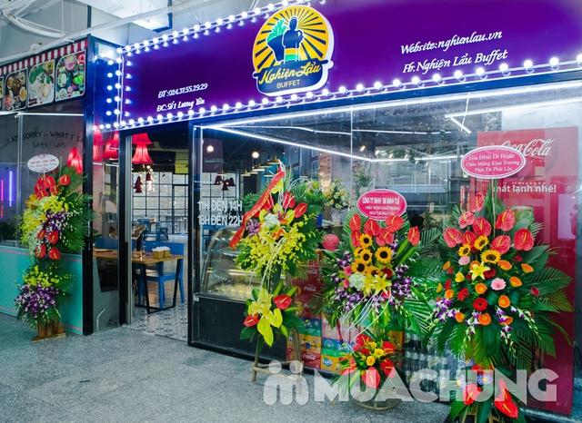 Buffet lẩu- NH Nghiện Lẩu cơ sở mới số 1 Lương Yên - 1