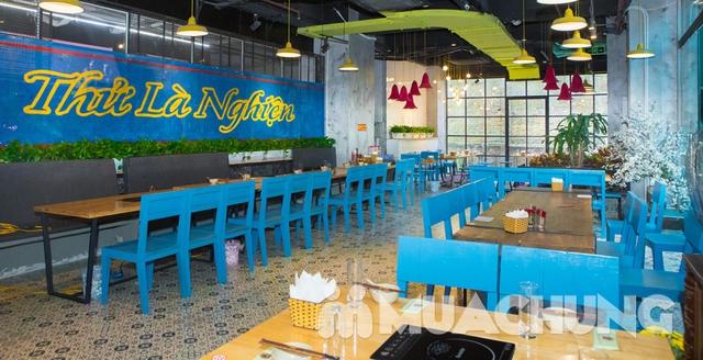 Buffet lẩu- NH Nghiện Lẩu cơ sở mới số 1 Lương Yên - 2