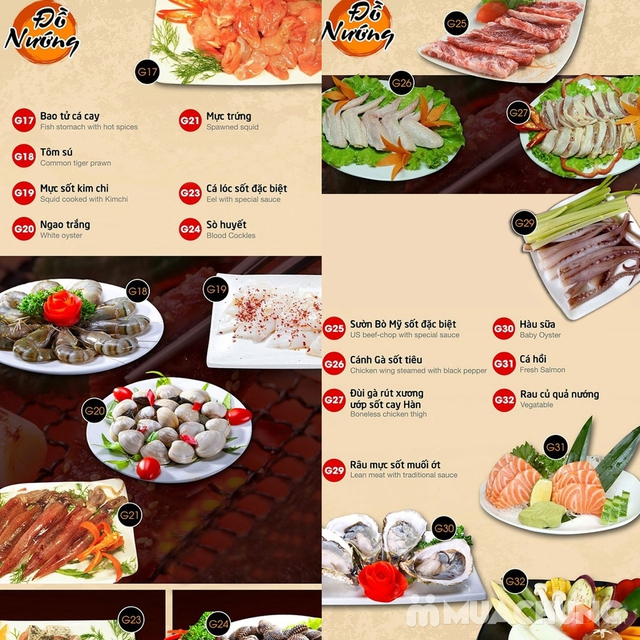 Buffet nướng lẩu Gri & Gri - Time City/Royal City - 13