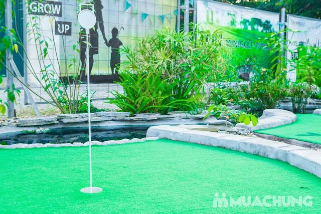 Voucher chơi gold tại Ton Mini Golf - 18 holes - 9