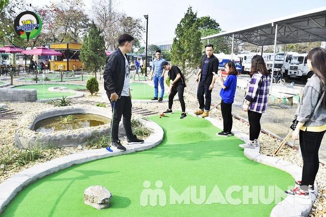 Voucher chơi gold tại Ton Mini Golf - 18 holes - 4