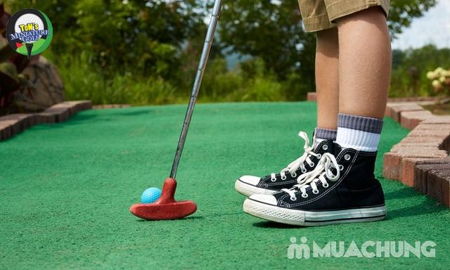 Voucher chơi gold tại Ton Mini Golf - 18 holes - 7
