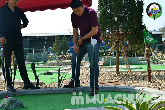 Voucher chơi gold tại Ton Mini Golf - 18 holes - 3