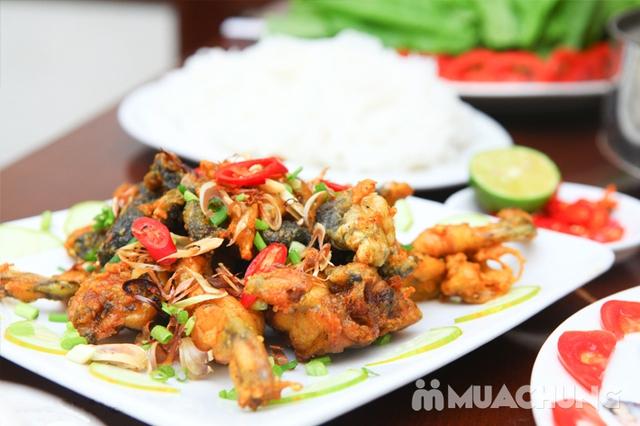 Lẩu ếch măng cay+ 4 món ăn kèm đầy đặn cho 4 người - 8