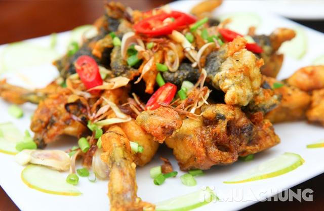 Lẩu ếch măng cay+ 4 món ăn kèm đầy đặn cho 4 người - 6