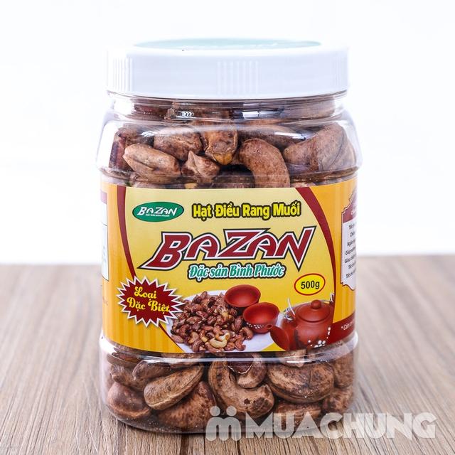 Hạt điều rang muối vỏ lụa Bazan (Hộp 500g) - 5