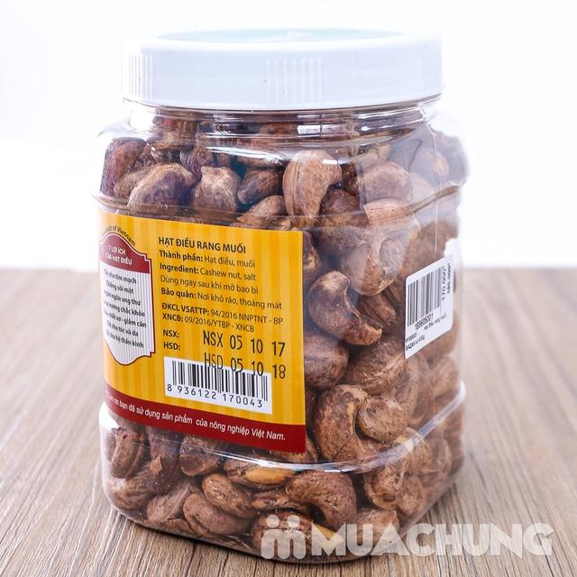 Hạt điều rang muối vỏ lụa Bazan (Hộp 500g) - 9