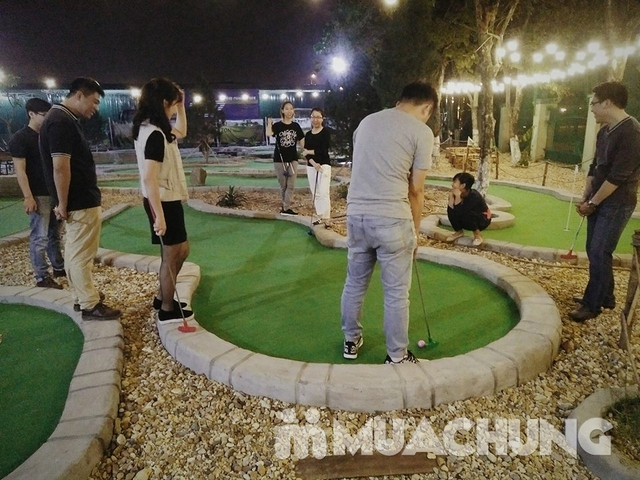 Voucher chơi gold tại Ton Mini Golf - 18 holes - 2