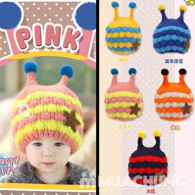 Set khăn ống+ mũ len ốc sên xinh yêu, ấm áp cho bé - 14