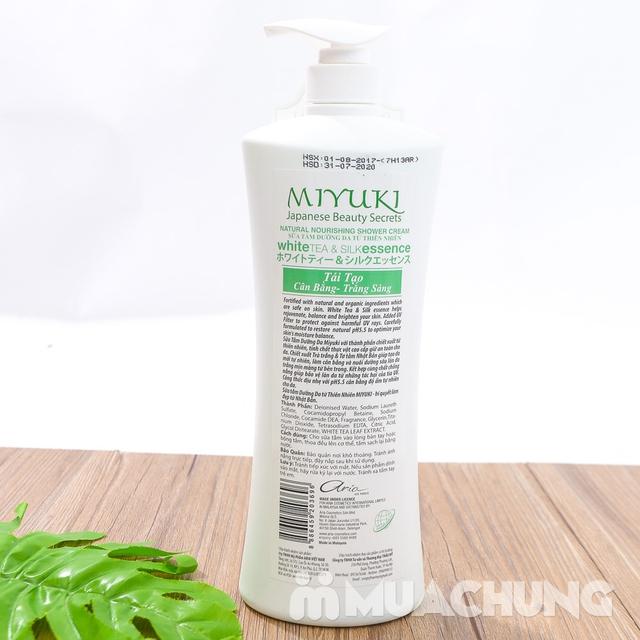 Sữa tắm MiYuki công nghệ Nhật Bản 1000ml - 16
