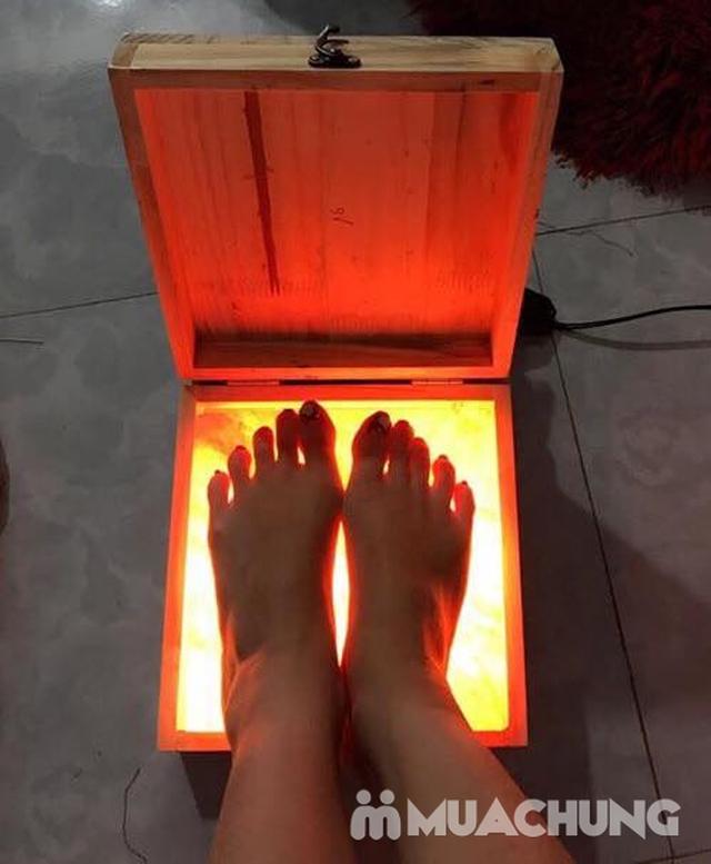 Hộp đèn đá muối massage chân Hymalaya - 8