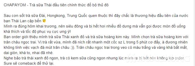 Voucher giảm giá Trà sữa Thái Lan Chapayom cực HOT - 2