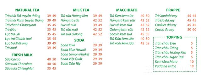 Voucher giảm giá Trà sữa Thái Lan Chapayom cực HOT - 44