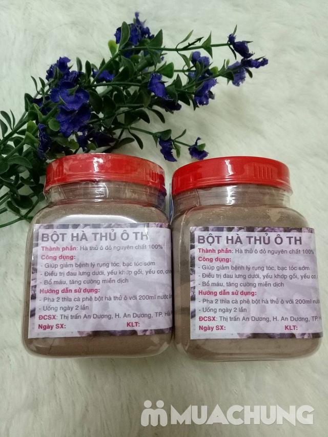 2 hộp bột hà thủ ô đỏ (100g/1 hộp) - 1