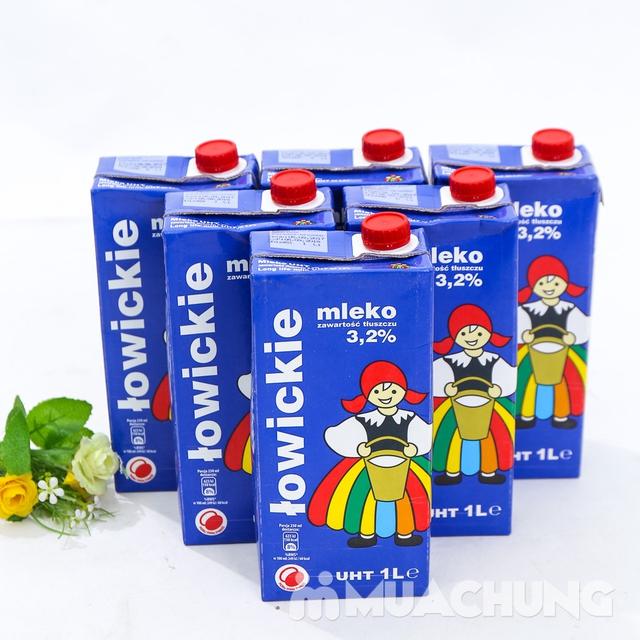 6 hộp sữa tươi tiệt trùng 3,2% chất béo- NK Ba Lan - 11