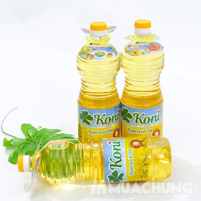 3 chai dầu hạt cải Koni nhập khẩu Ba Lan - 13