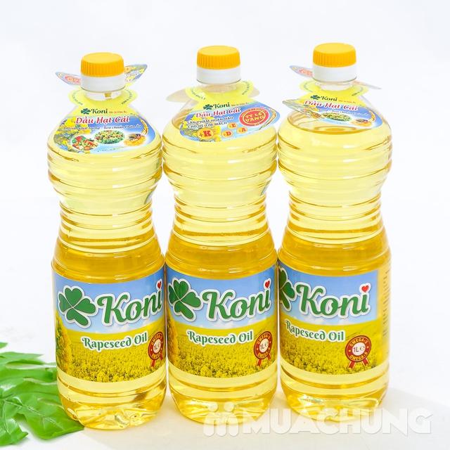 3 chai dầu hạt cải Koni nhập khẩu Ba Lan - 8