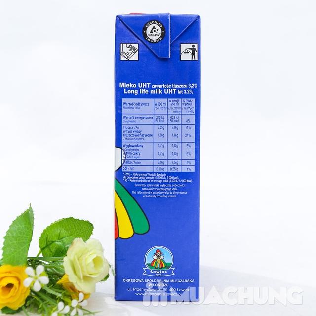 6 hộp sữa tươi tiệt trùng 3,2% chất béo- NK Ba Lan - 8