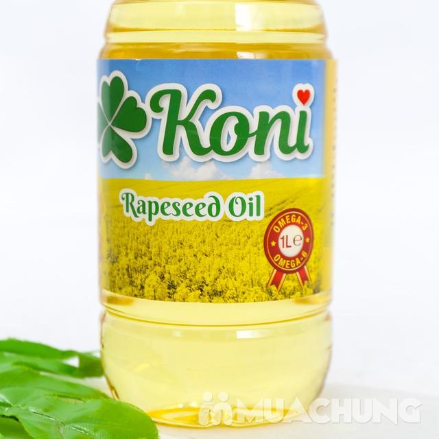 3 chai dầu hạt cải Koni nhập khẩu Ba Lan - 9