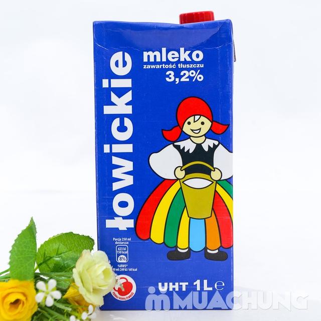 6 hộp sữa tươi tiệt trùng 3,2% chất béo- NK Ba Lan - 7