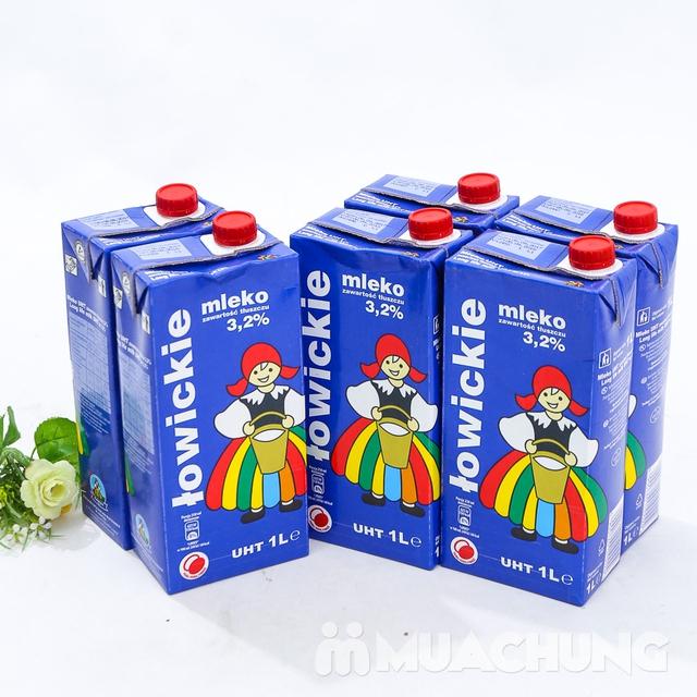 6 hộp sữa tươi tiệt trùng 3,2% chất béo- NK Ba Lan - 12